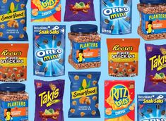 17 Worst Snacks to Buy at the Drugstore, According to RDs - Provided by Eat This, Not That! @LaurenPincusRD quoted. Healthy Snack Options, Snack Recipes, Garden Veggie Straws, Haribo Gummy Bears, Pretzel Cheese, Honey Roasted Peanuts, Bite Size Cookies, Caramel Bits, Protein Packed Breakfast