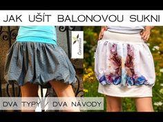 Skater Skirt, Midi Skirt, Tie Dye Skirt, Gym Shorts Womens, Ballet Skirt, Sewing, Skirts, Youtube, Beauty