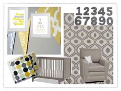 Be sure to see our adorable yellow baby room. Get more decorating ideas at http://www.CreativeBabyBedding.com
