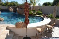 Above Ground Pool Ideas - In the summer, people like spending few hours in the swimming pool. However, you may hate the way your above ground pool looks in your backyard. Above Ground Pool Landscaping, Backyard Pool Landscaping, Backyard Pool Designs, Small Backyard Pools, Swimming Pools Backyard, Backyard Pergola, Swimming Pool Designs, Outdoor Pool, Landscaping Ideas