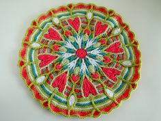 mandala CAL by caseyplusthree, via Flickr