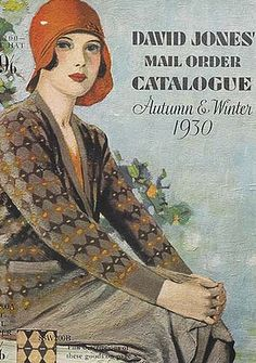 David Jones mail order catalogue 1930.