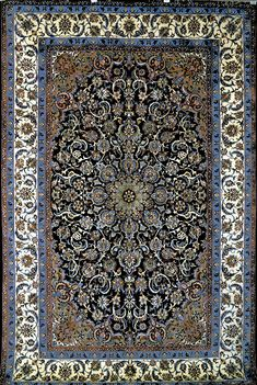 Isfahan Silk Persian Rug | Exclusive collection of rugs and tableau rugs - Treasure Gallery Isfahan Silk Persian Rug You pay: $6,500.00 Retail Price: $18,500.00 You Save: 65% ($12,000.00) Item#: 168 Category: Medium(6x9-8x11) Persian Rugs Design: Center Medallion Size: 200 x 310 (cm) 6' 6 x 10' 2 (ft) Origin: Persian, Isfahan Foundation: Silk Material: Wool & Silk Weave: 100% Hand Woven Age: Brand New KPSI: 600