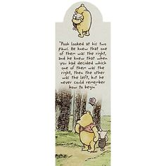 Winnie The Pooh Lost Bookmark just £1 | Perfect gift for Winnie The Pooh fans - young and old alike | Gifts - New In! at The Works