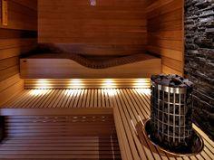 Specialist in maatwerk wellness en interieurprojecten Home Spa Room, Spa Rooms, Spa Interior Design, Sauna Heater, Wellness, Sauna Design, Sauna Room, Infrared Sauna, Shed Homes