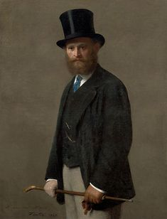 Portrait of Manet, by Henri Fantin-Latour 1867