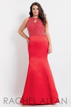 ece9b749e38 Rachel Allan Curves 6339. Curve DressesProm Dress StoresProm DressesPlus  Size ...