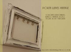 Portallaves Vintage Precio Lanzamiento - $ 220,00