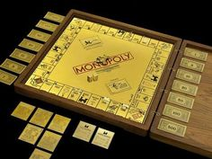 The Worlds Most Expensive Gold & Jeweled Monopoly Board Game at $2,000,000