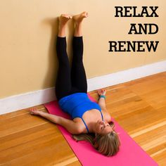 Relax and Renew: A Restorative Yoga Sequence by fitsugar: Open your heart and relieve tension after a long day. If you're feeling stressed out, then you might notice that your breath is a little shallower than you'd realized. Place emphasis on deep, full breaths, and each of these poses will feel easier and easier. #Yoga #Restore #Relax #Renew