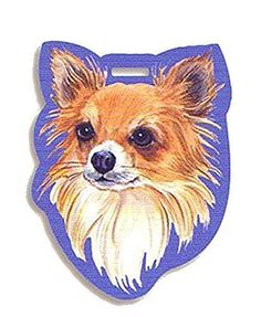 Westport  Luggage Tag Chihuahua  Haired Long ** To view further for this item, visit the image link.Note:It is affiliate link to Amazon.