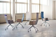 Duo Conference Chair by Antti Olin for Isku