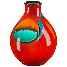 Buy Poole Pottery Volcano Purse Bud Vase, 12.5cm Online at johnlewis.com