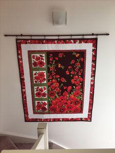 Poppy wall hanging