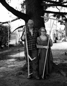 Eccoci. Siamo Alessandro e Cristina. Assolutamente neo #rurali.