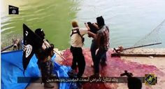 (VERY RARE FOOTAGE) Muslims Create A Literal River Of Human Blood By Butchering 1500 Innocent People