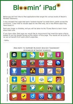 ipad apps for the classroom - I don't have an ipad...but perhaps I will have one in a classroom someday.