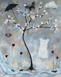 Rebecca Rebouché — Family Tree Paintings