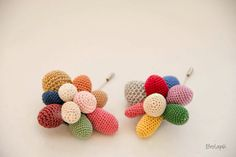 Crochet. ganchillo. broches.