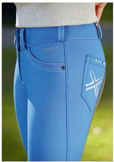 Pikeur leandra blue breeches StyleMyRide.net @SMRequestrian #stylemyride #fashion @TeresaDoherty