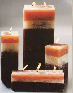 velas decorativas com chocolate - Pesquisa Google
