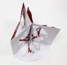 Dossier de presse - Maquette pop-up - Exposition Louis Vuitton - Paris 1867 / Shanghai 2010 | Scénographie Agence Manymany - Livres géants
