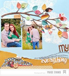 Disney Scrapbook Page Layouts   12x12 Scrapbook Layout Disney's Belle of the Ball by ntvimage