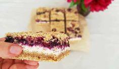 Fit koláč z vločiek, tvarohu a ovocia - Generali Balans Healthy Cake, Healthy Recipes, Sponge Cake, Dessert Recipes, Desserts, Sweet Recipes, Tiramisu, Ale, Food And Drink