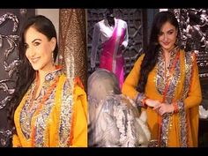 The hot model Elli Avram looking gorgeous in indian attire at the launch of the store Grand Trunk Show in Mumbai. Also see Elli Avram at Lavasa Women's Drive. Indian Attire, Trunks, Interview, Kimono Top, Product Launch, Sari, Photoshoot, Youtube, Tops