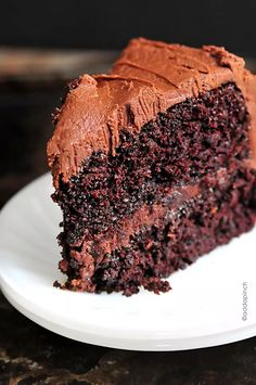 The best chocolate cake recipe. Ever? There are plenty of claims for the best chocolate cake recipe. But with one bite of this chocolate cake with chocolate. Amazing Chocolate Cake Recipe, Best Chocolate Cake, Chocolate Desserts, Chocolate Frosting, Decadent Chocolate, Chocolate Chocolate, Caramel Frosting, Chocolate Cake Recipe With Boiling Water, Chocolate Cake With Buttermilk Recipe