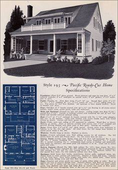 1920 sears home kits bungalows craftsman style bungalow for Pacific homes kit homes