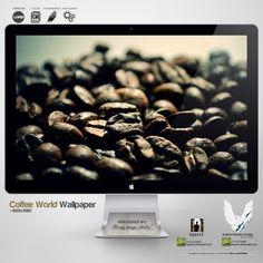 .COFFEE WORLD. Wallpaper by enemia.deviantart.com on @deviantART