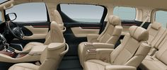 Toyota Alphard 2,5G - Interior - All Seat and Space - First Class Comfort for The Family - AUTO2000
