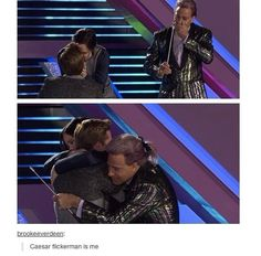 Caesar is me. WHY WASN'T THIS PART IN THE MOVIE