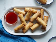 Shrimp Spring Rolls recipe from Food Network Kitchen via Food Network