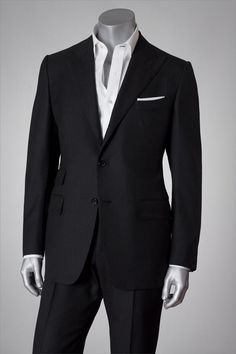 Black+Tailored+Tom+Ford+Suit