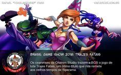 Brasil Game Show 2016: Trajes Fatais - Os cearenses da Onanim Studio trazem a BGS o jogo de luta Trajes Fatais, um ótimo título que nos remete aos velhos tempos de fliperama. #BGS #BGS2016 #OnanimStudio #TrajesFatais #TRAF