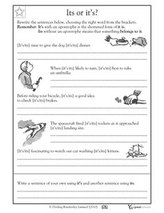 Printables 4th Grade Language Arts Worksheets language art and words on pinterest free printable grade writing worksheets word lists activities page 2 of 6 greatschools
