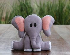 Safari em feltro - Elefante