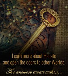Hecate The Goddess of Witchcraft and Patroness of all Witches