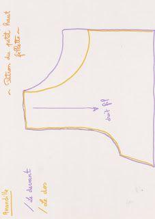 Tuto couture enfant : le petit haut sans manches pour fillette taille 3 ans (patron gratuit - pattern free)
