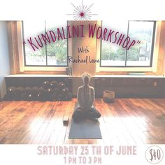 """Hello Everyone!! Here is a little reminder for this wonderful workshop we have coming up this weekend - check out the details below!! :) """"In Kundalini Yoga the most important thing is your experience. It goes right to your heart. No words can replace that experience."""" Yogi Bhajan Master of Kundalini Yoga  Come and join Rachael and us for the first kundalini yoga workshop we have run at the ]Yoga Lounge. Kundalini yoga is and invigorating and transformational practice that uses a combination…"""