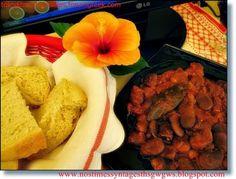 Dried beans (koukia) ragout | deliciousrecipesofgogo