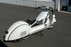 stretched scooter, nice ride