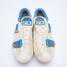 Sidi Revolution white leather cycling shoes vintage 42 EUR l eroica  SIDI   Road 3d6458a14