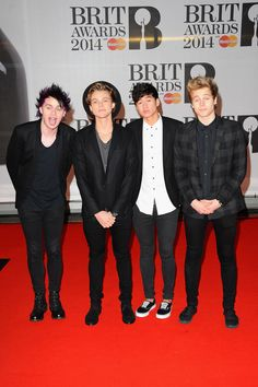 5 Seconds of Summer: Luke Hemmings, Ashton Irwin, Calum Hood and Michael Clifford.