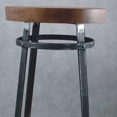 #hoker#stołekbarowy #handmade #steel#wood #design #dizajn#mebel #furniture #home#passion #art #concept #tmproject #frostyle #homedecor #poland #industrial #tomaszmroz
