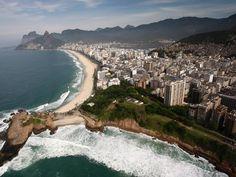 Copacabana, Ipanema e Leblon.