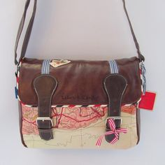 BOLSO DISASTER MAPA MUNDY PP SATCHEL