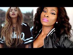 Nicki Minaj ft Beyonce Feeling Myself Inspired Makeup Tutorial - YouTube